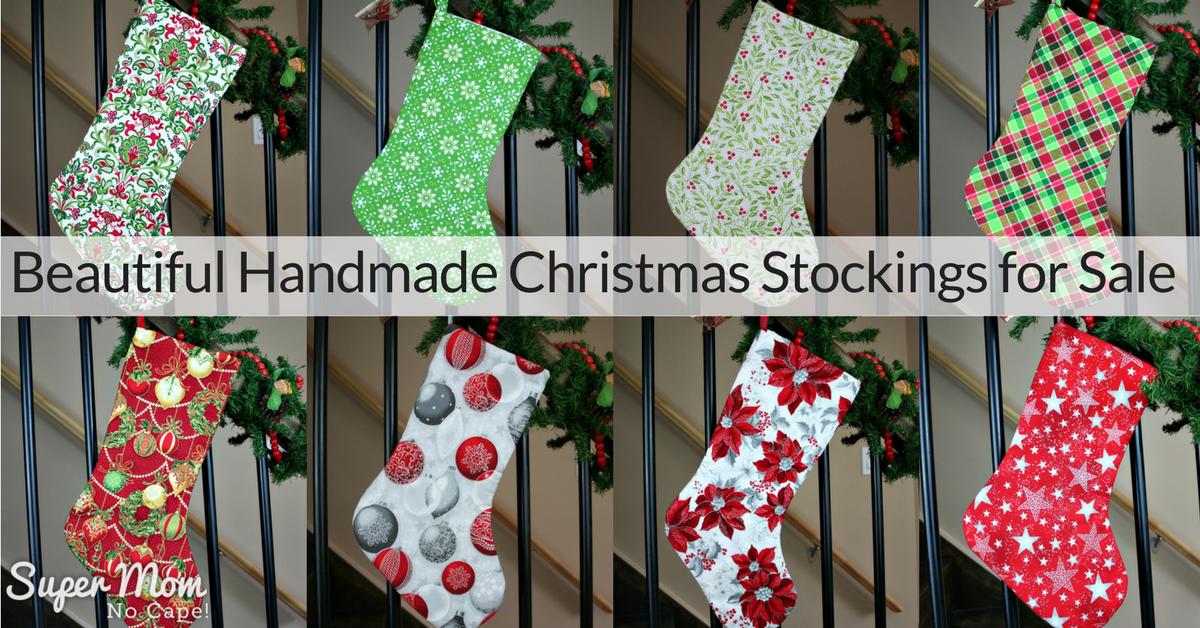 beautiful handmade christmas stockings for your holiday decor - Handmade Christmas Stockings