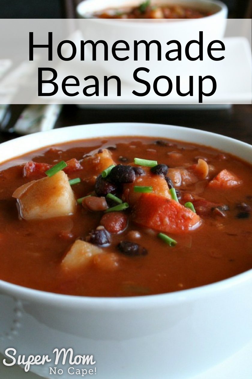 Bean Soup made from Bean Soup in a Jar Mix