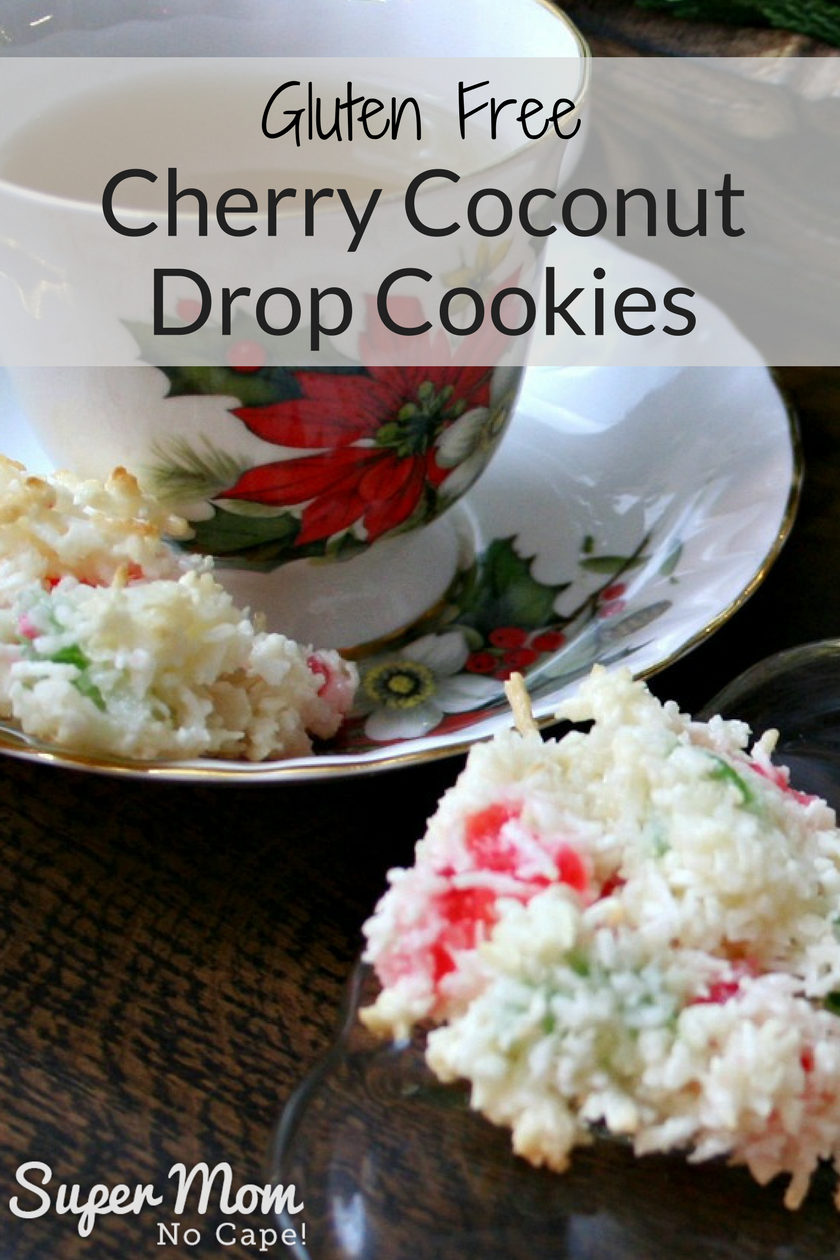 Cherry Coconut Drop Cookies