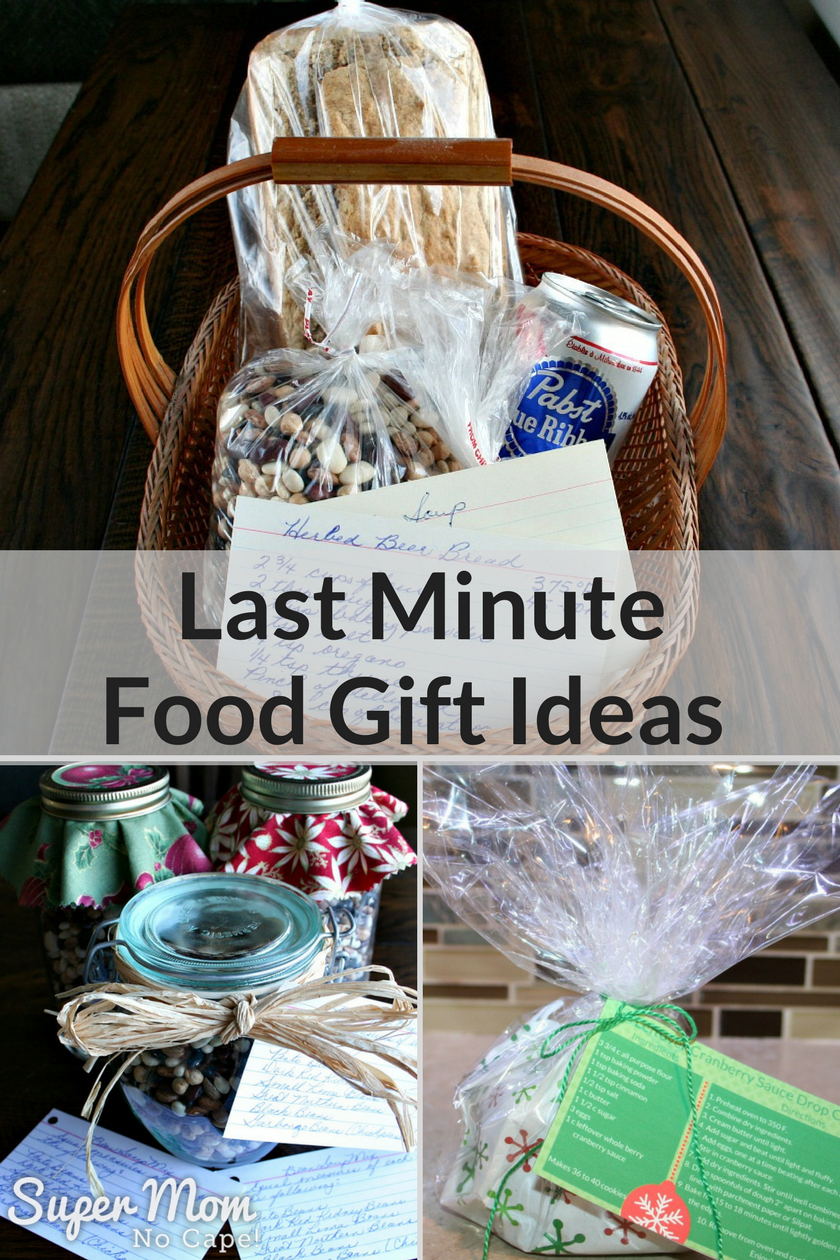 Last Minute Food Gift Ideas