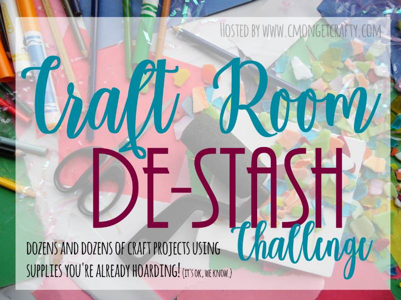 Craft Room De-Stash January 2018
