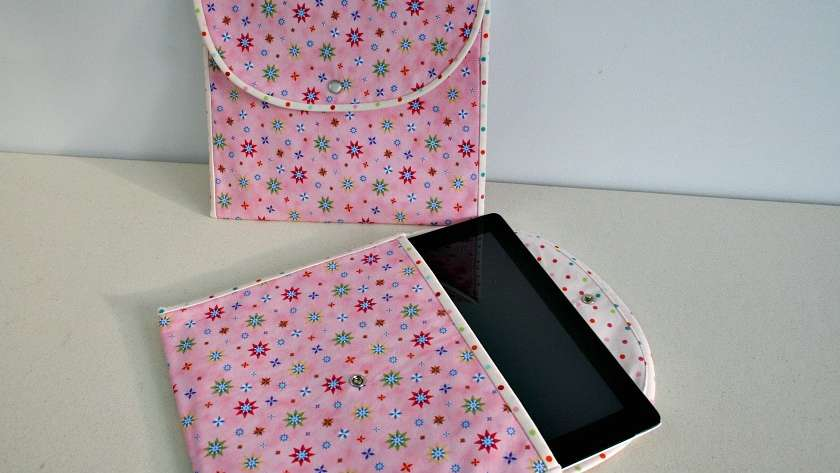 Tablet Pouch Tutorial