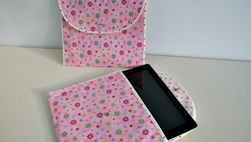 Pretty Little Tablet Pouch to Sew