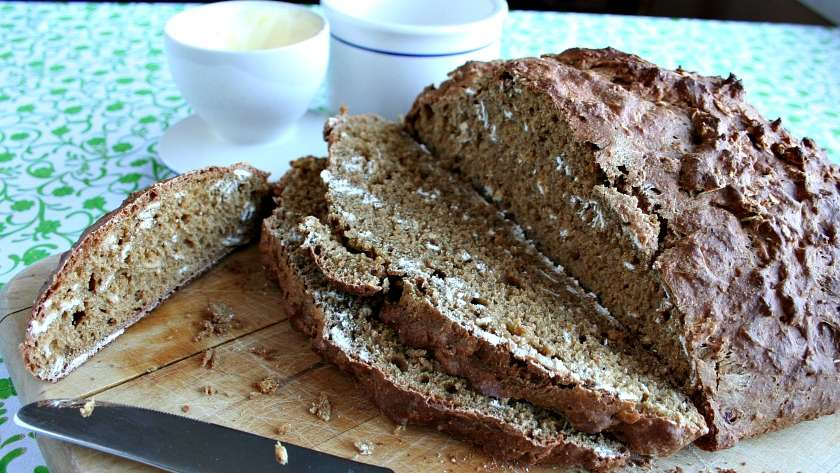 Irish Soda Bread with a Rye Twist