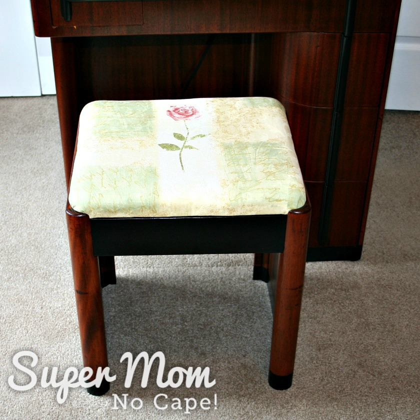 Matching Art Deco Stool