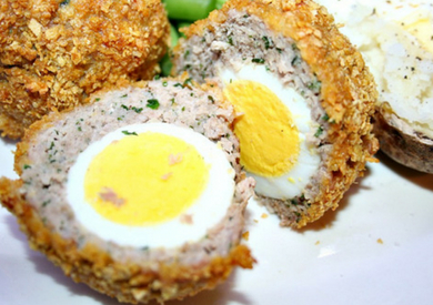 Gluten Free Baked Scotch Eggs