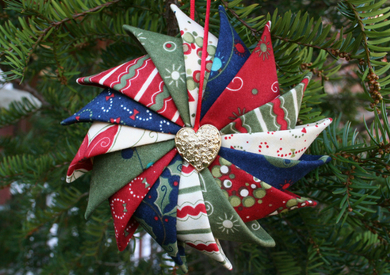 Prairie Star Ornament Tutorial