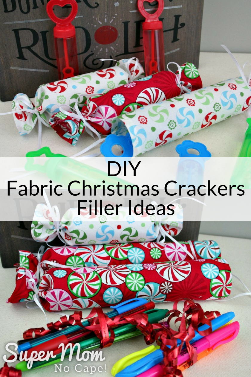 Diy fabric christmas crackers lots of filler ideas diy fabric christmas crackers filler idea bubble wands solutioingenieria Image collections