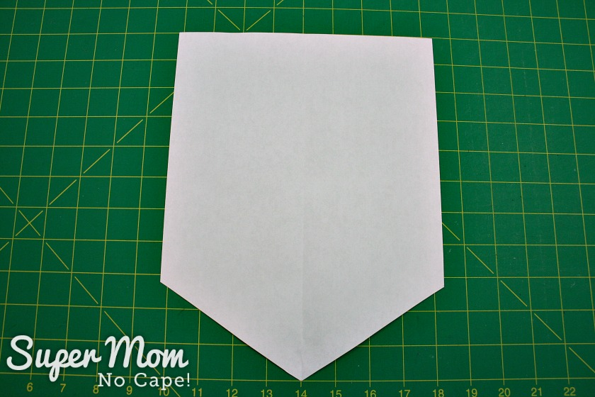 Paper pattern to make the Pumpkin Banner