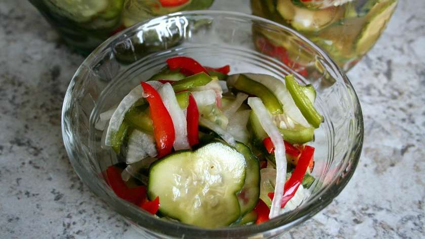 Quick and Easy Refrigerator Pickles