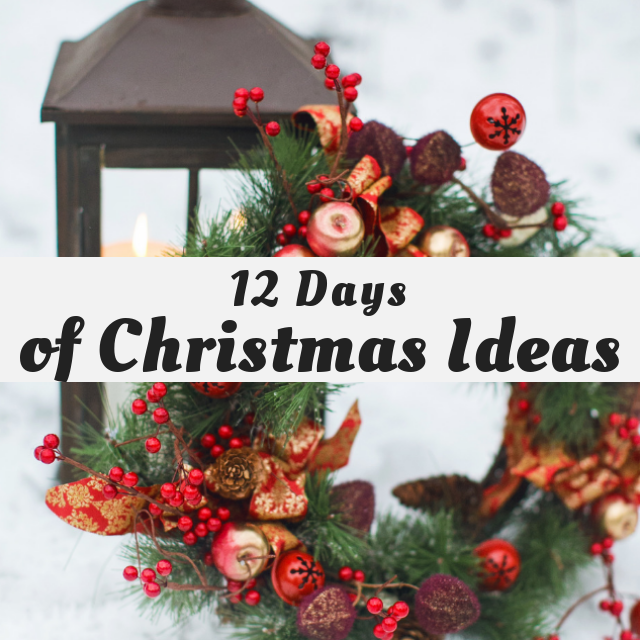 Graphic for the 12 Days of Christmas Blog Hop