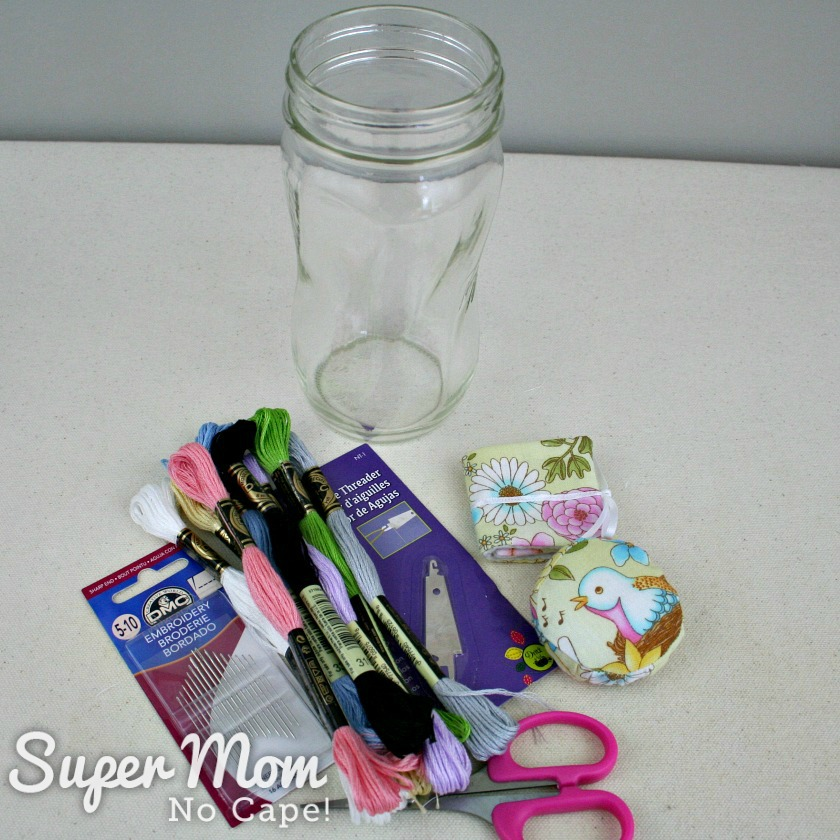Ideas for Items for 2nd Mason Jar Embroidery Kit