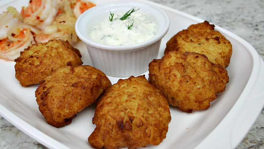 Rustic Potato Puffs