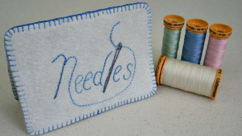 Needles – Embroidered Needle Book Pattern