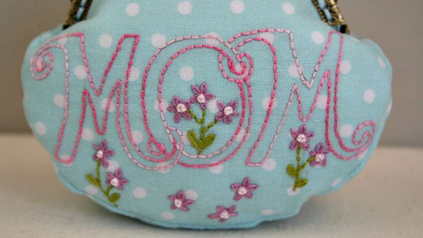 Mom is Just Another Word for Love Embroidery Pattern