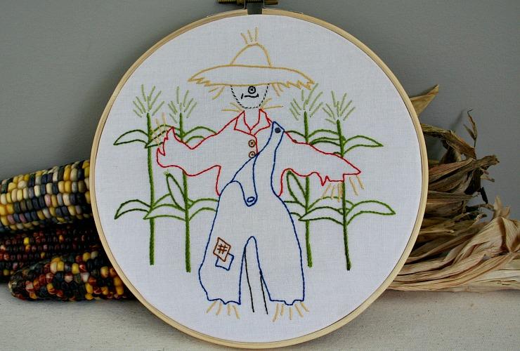 "<span itemprop=""name"">Strawbyn Scarecrow Embroidery Pattern</span>"