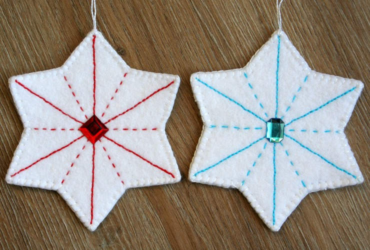 "<span itemprop=""name"">Felt Star Ornaments Pattern</span>"